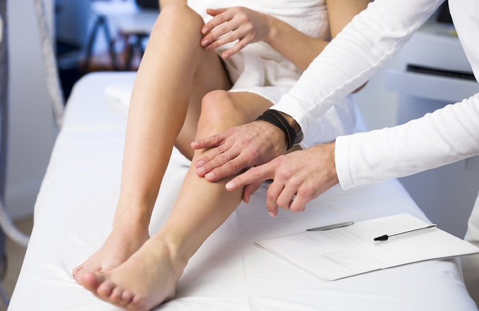 Обследование ноги
