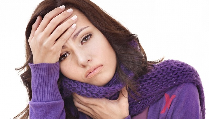 Болит горло при глотании