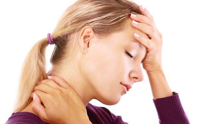 Боль в шее, головокружение, тошнота